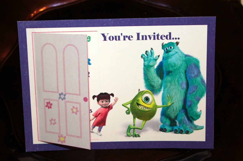 Come party with the Monsters from Monsters, Inc.!