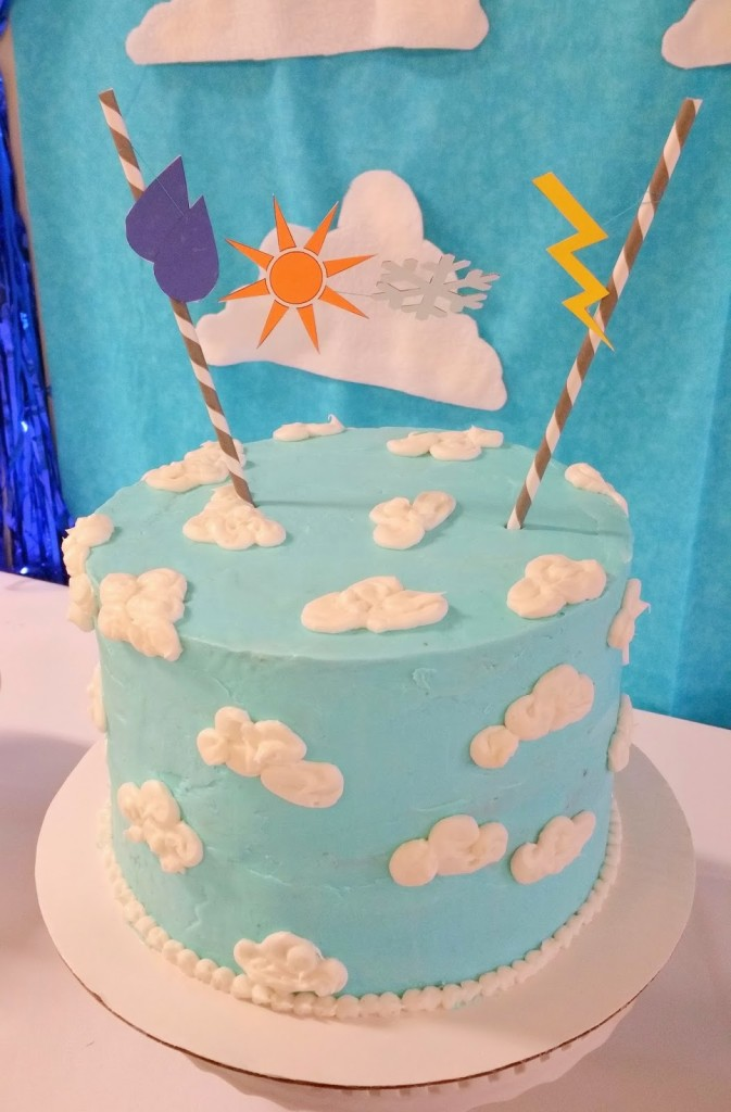A Weather Themed 2nd Birthday Party